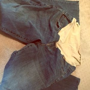 Size 12 old may maternity pants